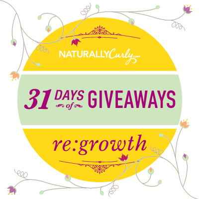 Enter to win Curly Hair prizes: NaturallyCurly's Spring Growth Giveaway