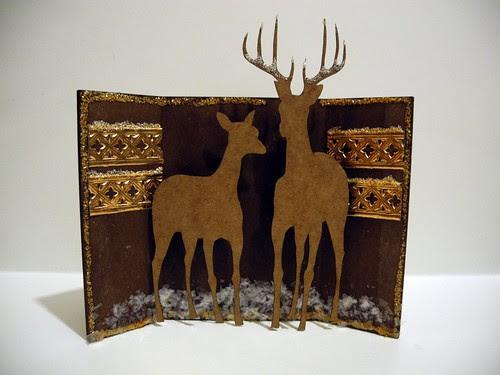 Winter Deer Shrine