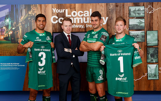 Bank of Ireland Cements its Rugby Credentials with Connacht Deal - AdWorld.ie