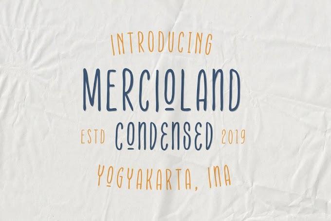 Mercioland Font