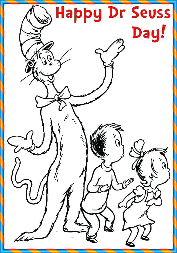 Dr Seuss Coloring Pages Pdf at GetDrawings.com | Free for ...