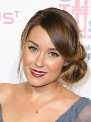 Lauren Conrad Updo Hairstyle