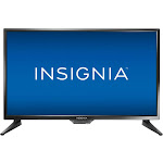 "Insignia NS-24D310NA19 - 24"" LED TV - 720p - Black"