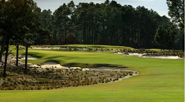 5th hole at Pinehurst #2