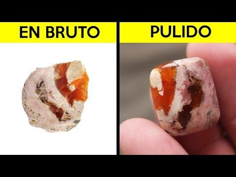 Puliendo Minerales #4 - Opalo de fuego Mexicano - crearmos una hermosa gema a mano