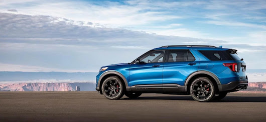 2020 Ford Explorer ST Adds Performance To Your Next Adventure