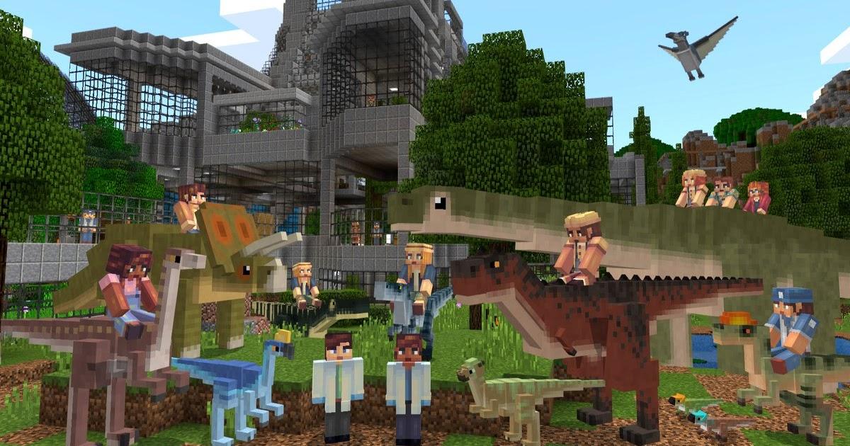 Minecraft Dinosaurs Mod Xbox One - Muat Turun j