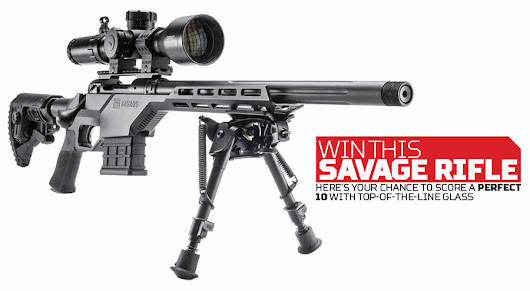 Win a Savage Mod 10 BA Stealth Rifle and a Bushnell Tactical Scope