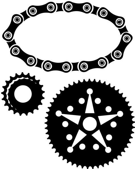 Bike Parts | Vector Files