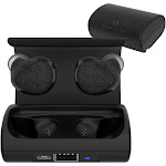 Cobble Pro True Wireless Earbuds BT Headset V4.1 Mini In-Ear Headphones with Built-in Mic and Portable Charging Case - Noise Cancelling Punchy Bass