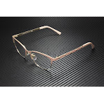 VERSACE VE1251 1424 Matte Pink Pale Gold Demo Lens 53 mm Women's Eyeglasses