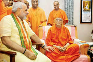 The monk who changed Narendra Modi's life