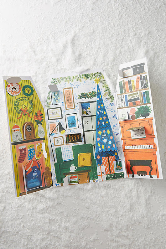 Adorable Advent Calendars - Countdown to Christmas - The Inspired Room
