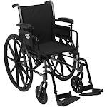Cruiser III Light Weight Wheelchair Front Rigging Options k316adda-sf