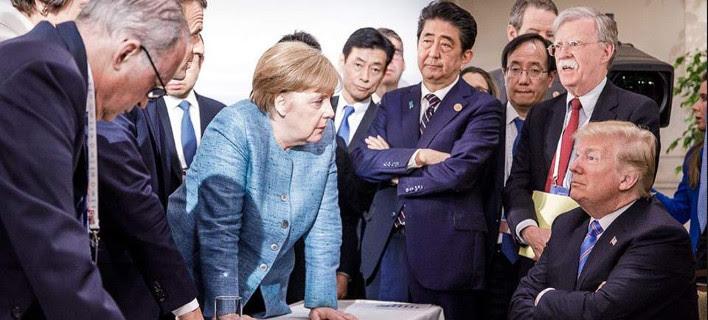 Τραμπ κατά... G6: Μας κατακλέβουν στο εμπόριο και γελάνε -Τον Τριντό τον ξεμπρόστιασα