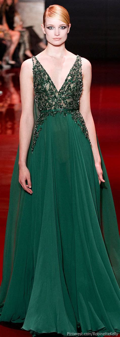 17 Best ideas about Green Gown on Pinterest   Emerald