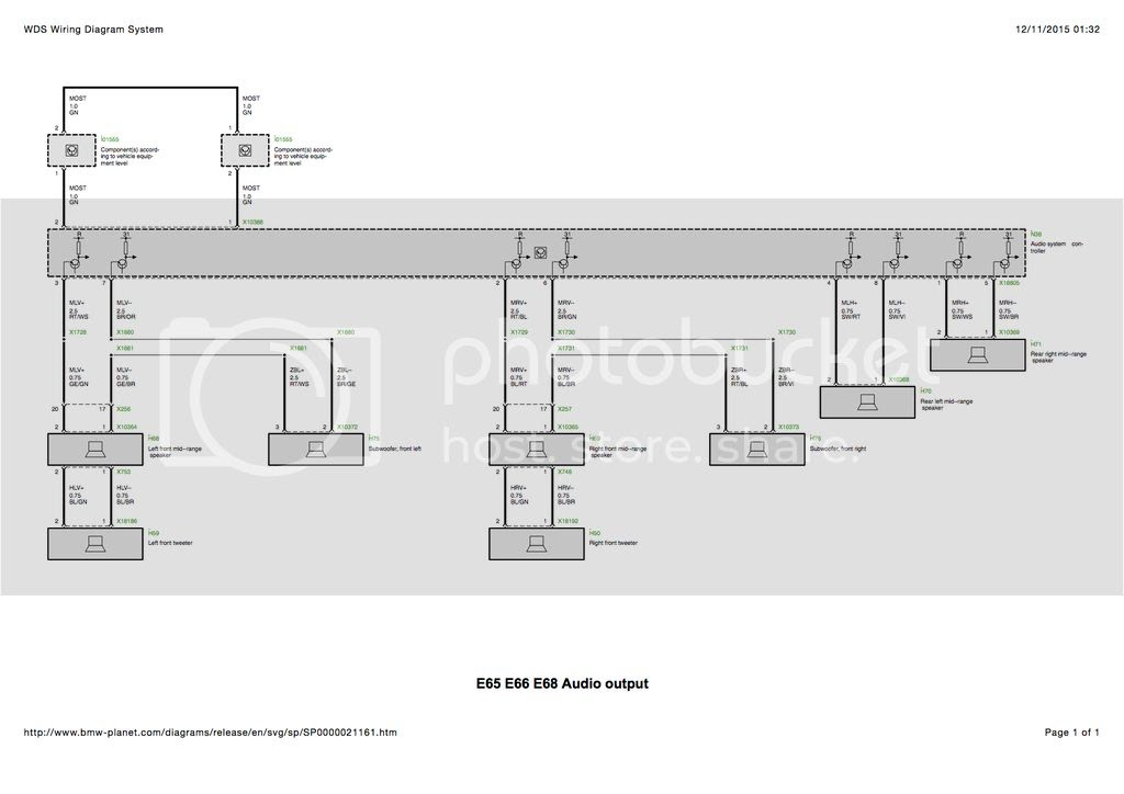 Wiring Schematic E65 Bmw