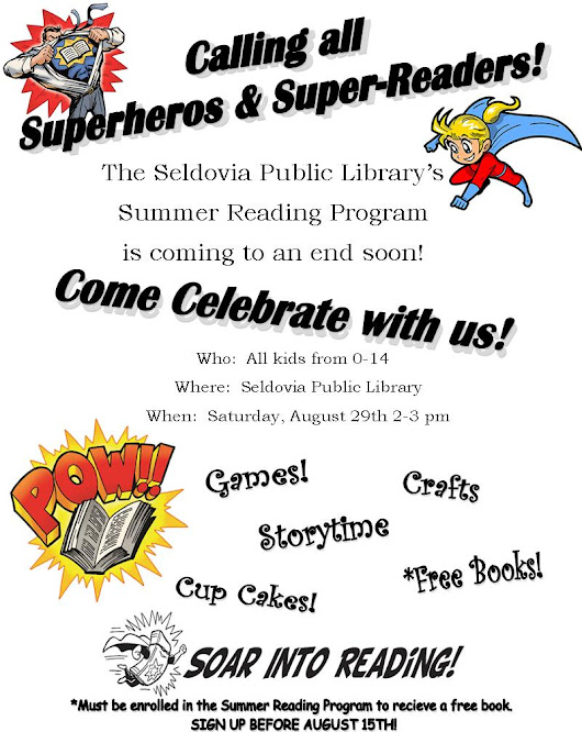Summer Reading Party - Calling all Super Heroes & Super Readers!