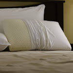 Pacific Coast Restful Nights Even Form Latex White Pillow In King Size