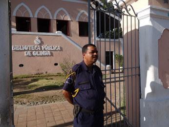 Guarda municipal de Olinda (Foto: Luna Markman / G1 PE)