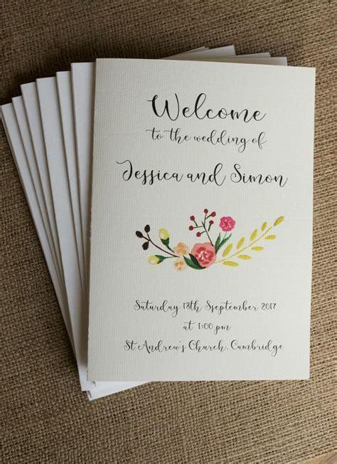 The 25  best Wedding booklet ideas on Pinterest   Wedding
