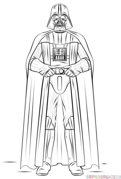 How to draw Darth Vader step by step. Drawing tutorials