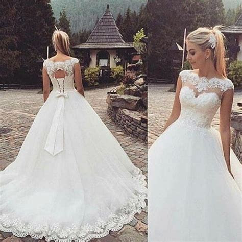 New White/Ivory Wedding dress Bridal Gown Stock Size US 4