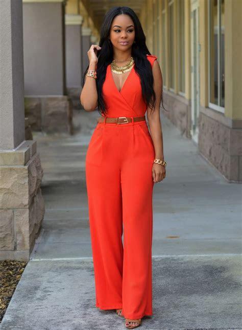 sleeveless  neck sashes women bodysuit red women ol