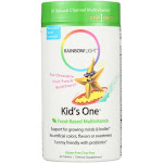 Rainbow Light Kids' One MultiStars Fruit Punch - 90 Chewable Tablets