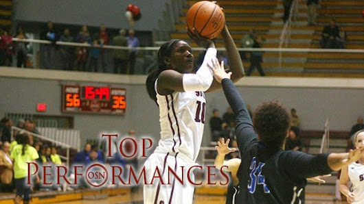 Top 10 Oklahoma college WBB performances of 2014-15