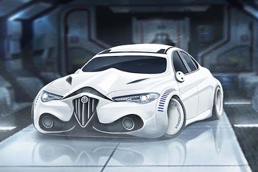 These Concept Sports Cars Inspired by Star Wars Characters |Gadgetsin