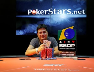 José Luiz da Costa campeão poker (Foto: Divulgação/Luis Bertazini)