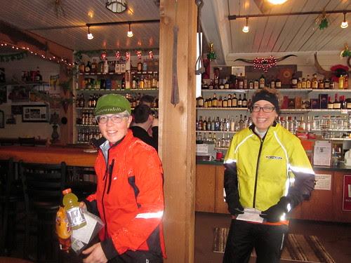 Lesli and Sara at the Birkenfeld store