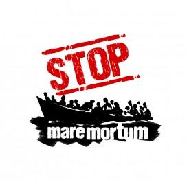 Logotip de Stop Mare Mortum, una de les entitats amb qui Txarango col·labora en aquest disc. Font: Stop Mare Mortum