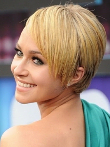 Celebrities  with short  hair styles
