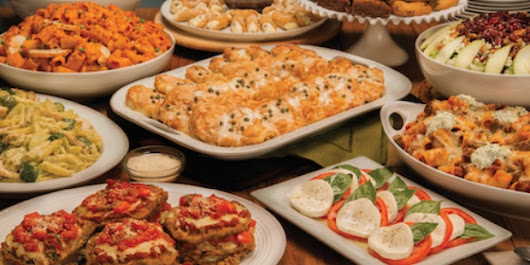 Cater Your Party with Buca di Beppo | Baked Chicago