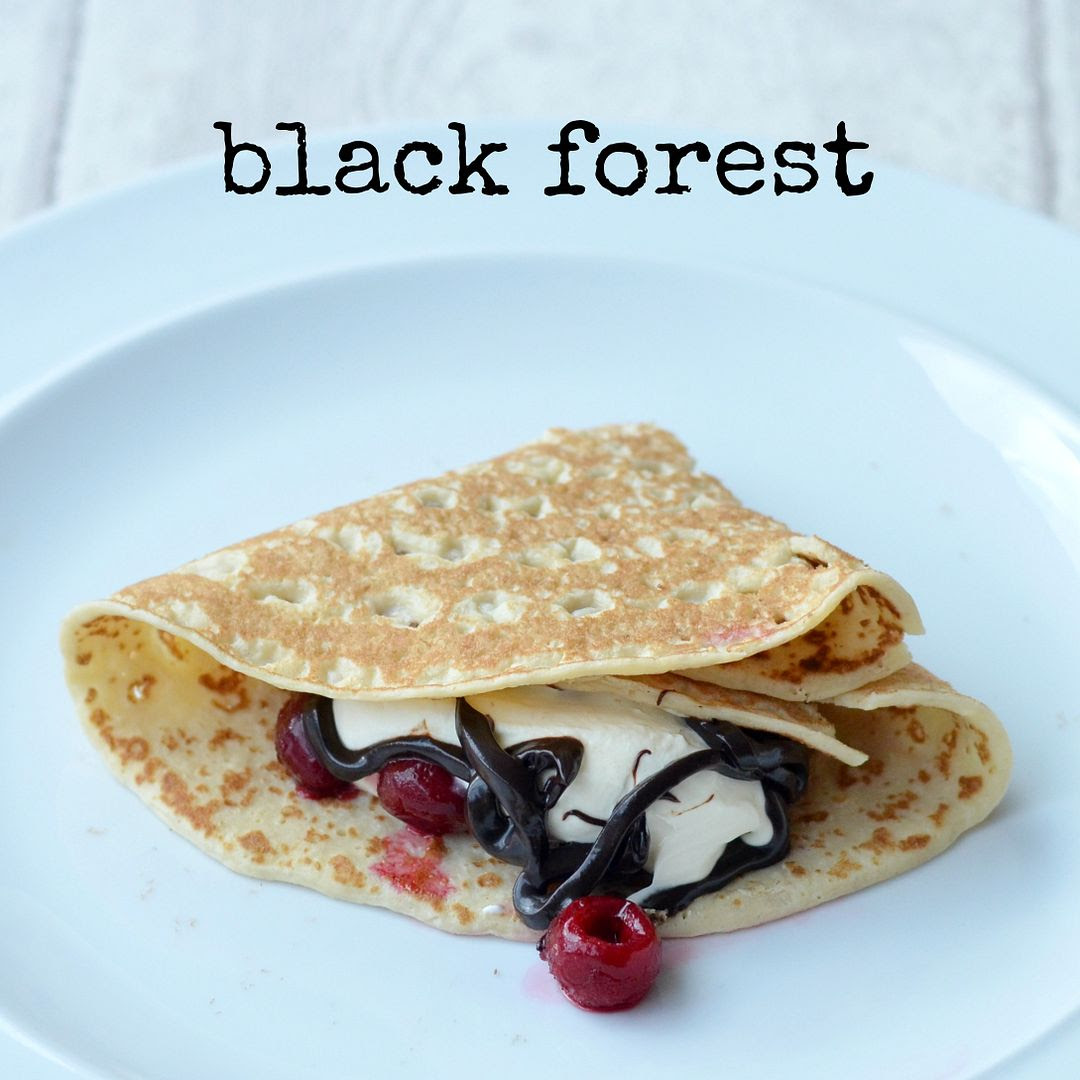Black Forest pancake