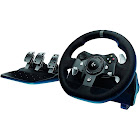 Logitech G920 Driving Force USB Wheel and Pedals Set for PC/Xbox One and Power Adapter