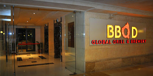 BBQ'D – Global Grill & Brewery, Lavelle Road, Bangalore North Indian Restaurant