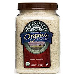 Rice Select Organic Texmati White Rice, 32 oz Jar