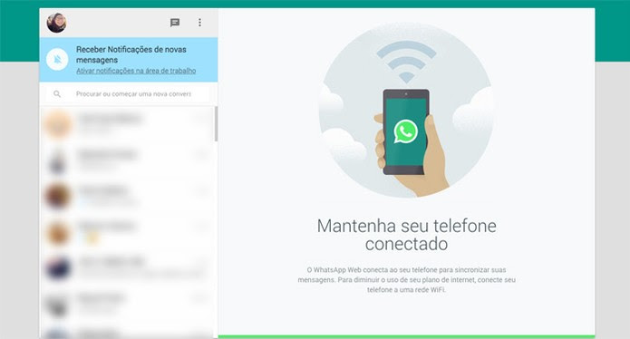 whatsapp pc (Foto: Isadora Díaz/ TechTudo)