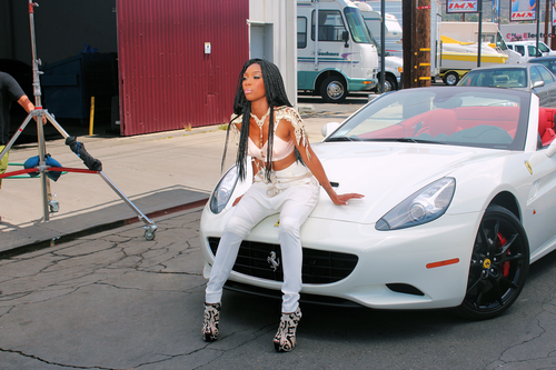 Put It Down (Video Still), Brandy