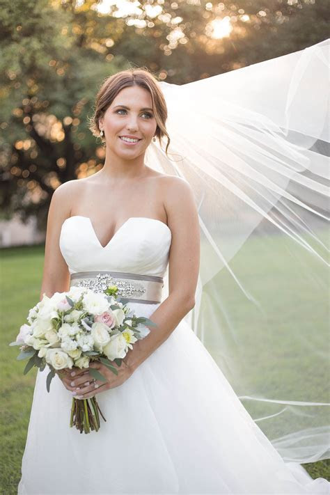 Real Bride: Meagan in Hayley Paige ball gown   StarDust