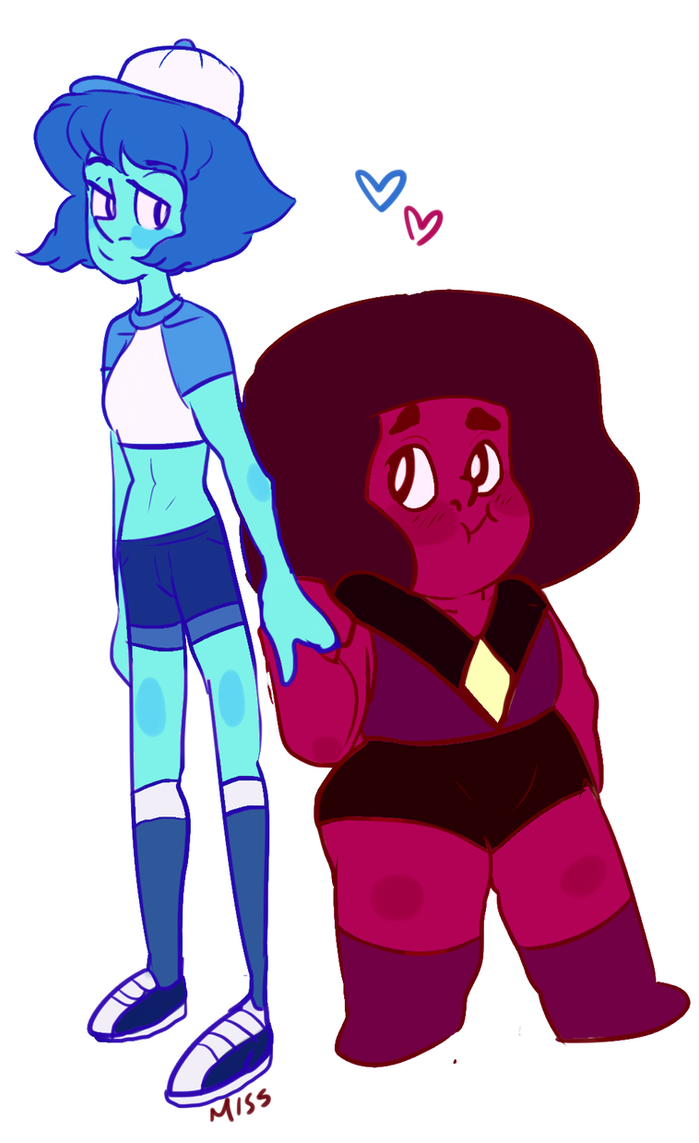 i ship lapis with the ruby she was talking to