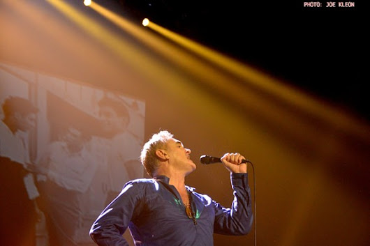 Morrissey Shows Why He's a Singular Talent