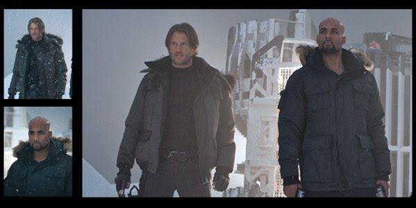 Retribuição: Leon e Luther aparecem em propaganda de loja