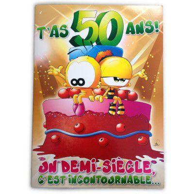 Carte A Imprimer Joyeux Anniversaire 50 Ans Dasaquenguli Forsa
