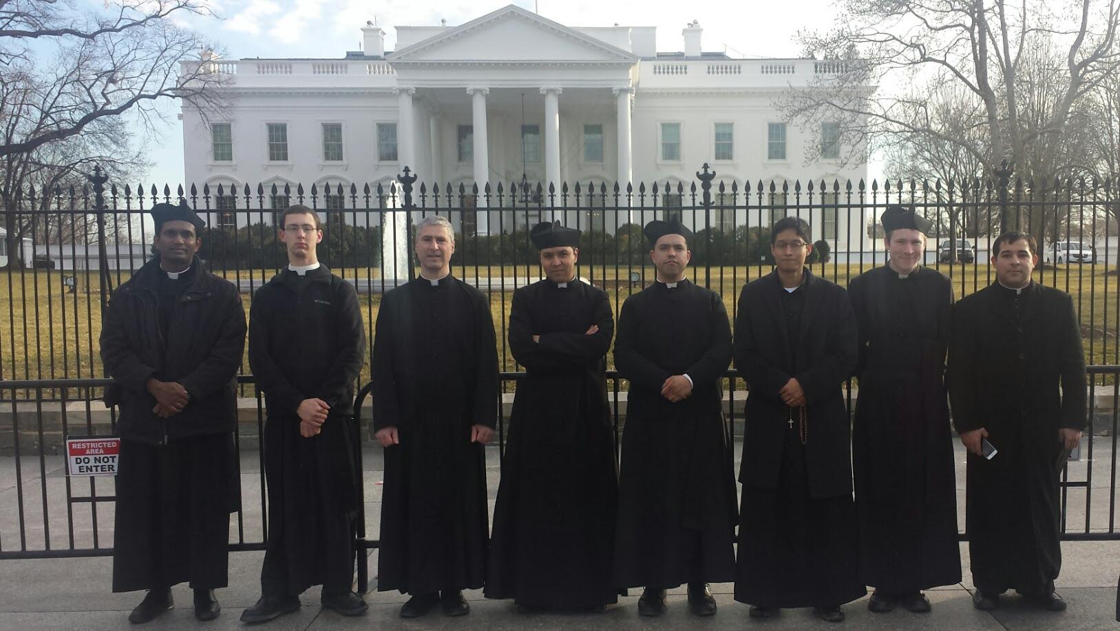 Seminarians in Washington