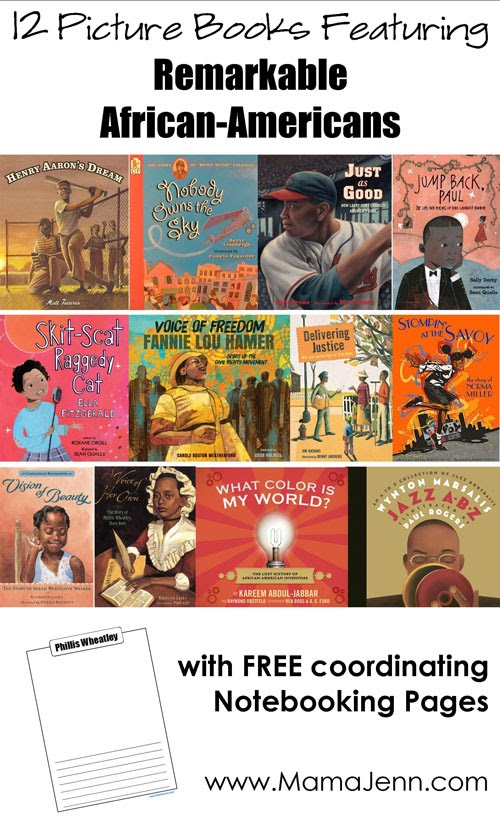 12 Picture Books About Remarkable African-Americans {FREE Printables} « Mama Jenn