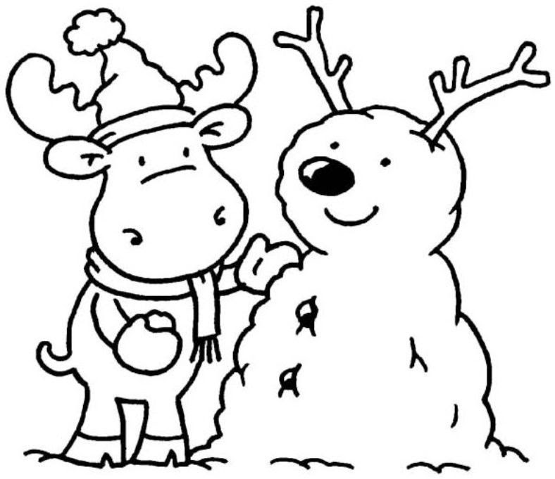 88 Free Printable Coloring Pages Winter Best HD